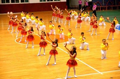 幼儿园六一体操表演策划书